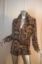 Womans RALPH LAUREN Southwestern Cotton Jacket With Buckle Size XL