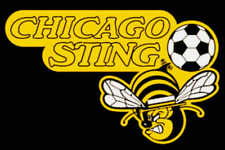 Chicago Sting Defunct NASL Soccer Embroidered Mens Polo XS-6XL, LT-4XLT New