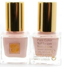LOT X 5 Estee Lauder PURE COLOR Nail Lacquer polish 62 Rosy Pink .17 oz 5 ml