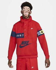 Nike Sportswear Mens Reissue Williwaw Woven Jacket University Red Lg DA0366-657