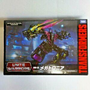 Takara Tomy Transformers Unite Warriors UW-EX Megatronia Figure Limited