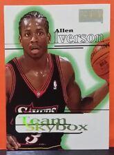 Allen Iverson card Team Skybox 97-98 Skybox #233