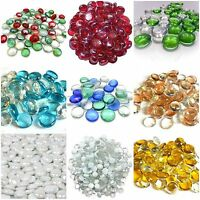 Decorative Glass Pebbles Stones Beads Vase Nuggets Wedding Decoration Home