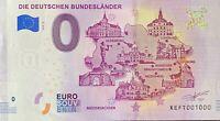 BILLET 0  EURO DIE DEUTSCHEN BUNDESLANDER NIEDERSACHSEN  2019  NUMERO 1000