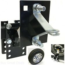 Boat Camper Trailer Spare Tire Carrier Rack Wheel Mount Holder Locking Bracket