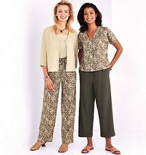 From UK Sewing Pattern Top Pants Jacket 20-24  #3886