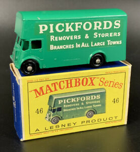 Matchbox Regular Wheels No. 46B, PICKFORDS REMOVAL VAN, Mint, Near Mint