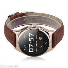 Touchscreen Orologio Bluetooth Smart Watch Heart Rate Monitor per Android e IOS