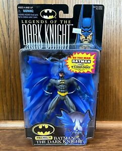 Blue Costume Batman Vintage Legends Of The Dark Knight Figure New 1997 Kenner