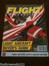 FLIGHT INTERNATIONAL # 4309 - LIGHT AIRCRAFT BUYERS GUIDE - MARCH 11 1992