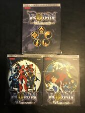 Ronin Warriors DVD Complete Collection Book 1 & 2 Bandai Entertainment 12 Discs