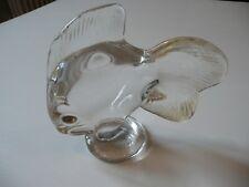 VANNES poisson en cristal