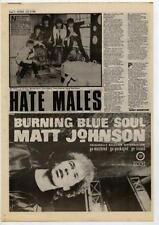 Matt Johnson The The UK LP advert 1984