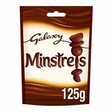 3x Galaxy Minstrels Chocolate Pouch 125G