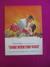 Gone With The Wind - rare Australian movie programme