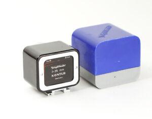 Voigtlander Kontur Hot Shoe Camera Frame Finder 35mm 24x36