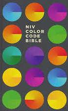 NIV Color Code Bible, Hardcover, Printed Caseside BRAND NEW!!!