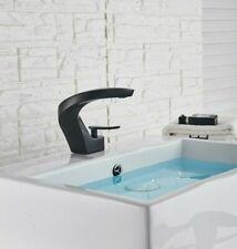Matte Black Single Handle Bathroom Basin Faucet Lavatroy Faucet Mixer Tap