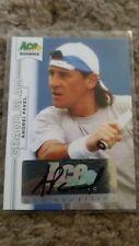 2013 Ace Authentic Grand Slam #BAAP1 Andrei Pavel Autograph