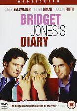 Bridget Jones's Diary  Renee Zellweger Hugh Grant Colin Firth UK REGION 2 DVD