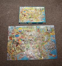 Jan Van Haasteren USA 1000 Piece Comic Jigsaw - Complete