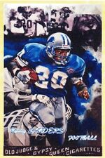 BARRY SANDERS GYPSY QUEEN ACEO ART CARD ## BUY 5 GET 1 FREE ## COMBINED SHIPPING
