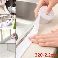 3X 320cm selbstklebend Abdichtungsband für Badewannen Duschwannen Duschen