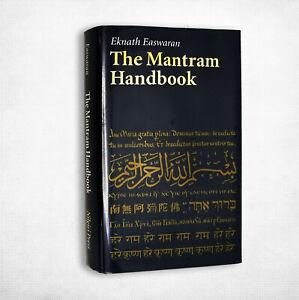 The Mantram Handbook Eknath Easwaran 2001 HC DJ Nilgiri Press Meditation Mantra