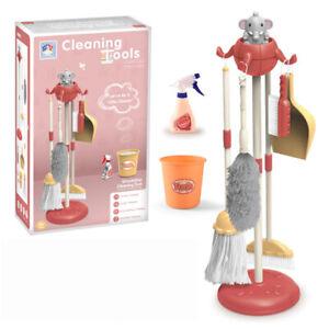 Kid Toy Kit D'outils De Nettoyage De Simulation Jouet D'outil De Ménage D'enfant
