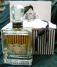 """JUICY COUTURE 20 oz PERFUME COLLECTORS NUMBERED 11""""H,5 1/2 """" L.3 1/2 """" W **RARE*"""