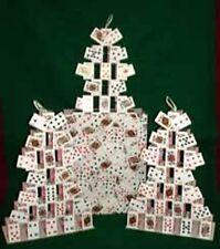 Magic Trick Triple Card Castles From Bag (mini cards)