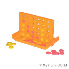 Connect 4 Game - Toy Fit American Girl Journey Girl Accessories For 18 Inch Doll