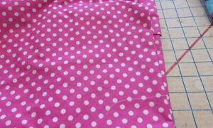 4X-5X--Scrub Top-White Dots on Pink-bb--Plus Size
