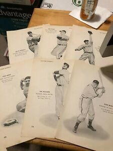 1951 Baseball Player Page - Vic Raschi/Joe Page Yankees