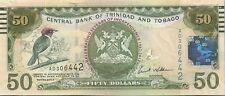 COMMEMO TRINIDAD : 50 DOLLARS 2012  50e ANNIVERSAIRE INDEPENDANCE NEUF - P.53
