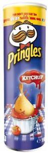 PRINGLES KETCHUP TOMATOE - 190G - VERY LIMITED EDITION - POTATOE PERFECT CHIPS