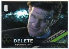 2016 Topps Doctor Who Exraterrestrial 50 Years of Cybermen 8 Nightmare in Silver