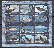 aitutaki ca 2012 whales wal baleine ballena dolphin delfino Delphin ms 12v mnh