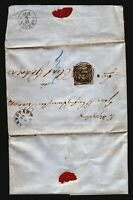 Germany SC# 3 on 1859 Cover (Will Ship Folded) - Z17220