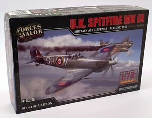 Forces Of Valor 1/72 Scale Model Kit #9 - UK Spitfire Mk. IX Aircraft 1942
