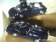 MERCEDES 300 SL 1954 / SOLIDO : bleue nuit