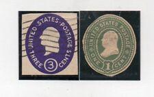 Estados Unidos Valores de Entero Postal (DN-744)