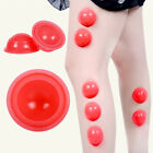 5Pcs Silicone Cupping Set Vacuum Body Massage Therapy Cup For Home DIY Reusable