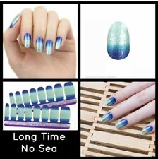 Color Street - Long Time No Sea - Nail Polish Strips - FREE SHIPPING