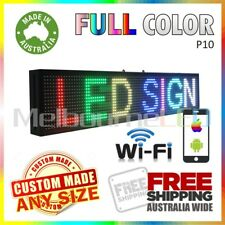 LED SIGN Full Colour WiFi Control Programmable Message Window Display 670 x 190