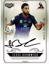 2017 NRL Elite - League Sensations LS7: Jesse Bromwich #28/130