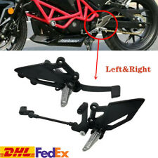 Motorcycle Shift Lever Frontset Foot Peg Bracket Footrest Pedal Shifter Aluminum