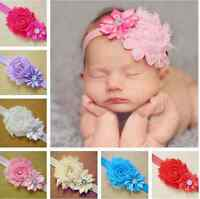 7pcs Sweet Kid Baby Girl Flower Headband Toddler Hair Bow Band Accessories Set