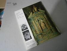 Art de basse Normandie Répertoire des autels et retable du Calvados XVII° au  XI