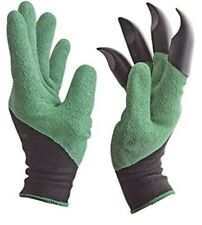 As Seen On TV Garden GENIE Gloves With Built-In Claws - Brand NEW!